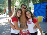 Me and two beautiful girls on last day ;)