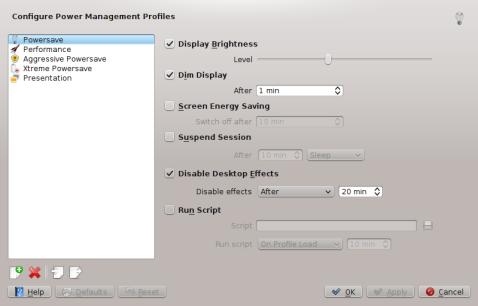 New PowerDevil config UI